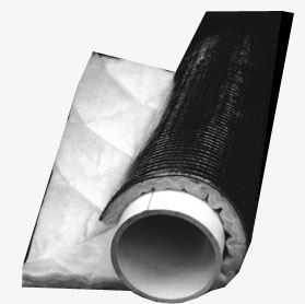 Sound Seal Acoustical Pipe and Duct Wrap Flexible Noise Barrier B-20 Lag QFA3 Image