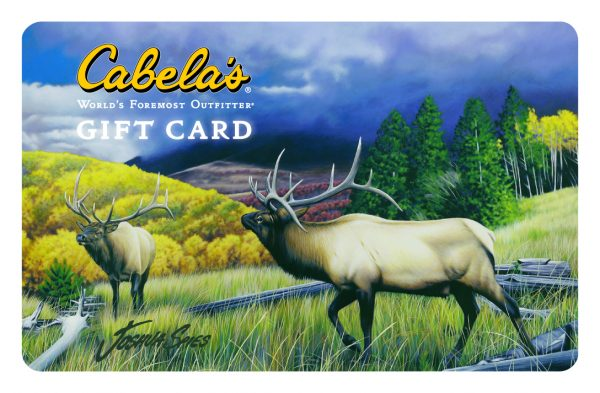 Cabela's or Bass Pro Shops Gift Card From GIC