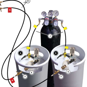 refillable-foam-system-with-nitorgen-cylinder