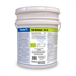 Foster 40-25 Full Defense Fungicidal Protective Coating 5 Gallon Pail