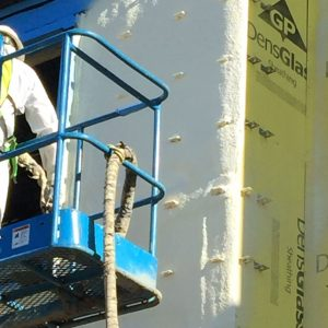 Spray Foam Application - Exterior Joints