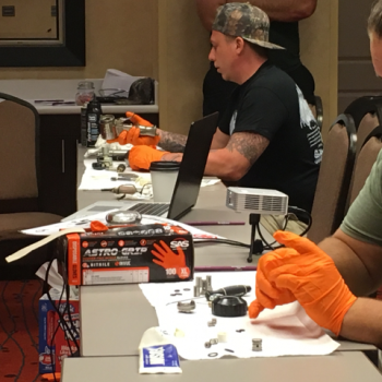 GIC Spray Foam Training Class - Disassembling and Cleaning the Applicator
