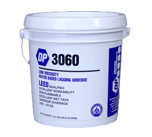 Design Polymerics DP 3060 Low Viscosity Water Based Lagging Adhesive