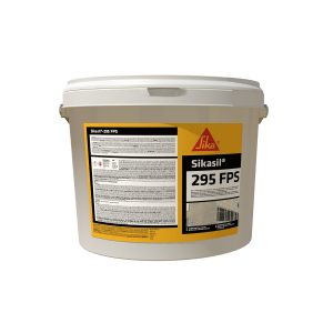 Sikasil WS-295 FPS silicone sealant - 1.5 gallon white base
