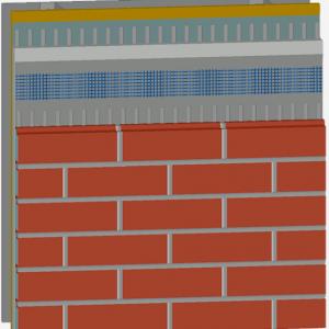 Newbrick veneer cladding With CI Application