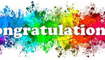 Congratulations GIC employees celebrating anniversaries October to December 2019
