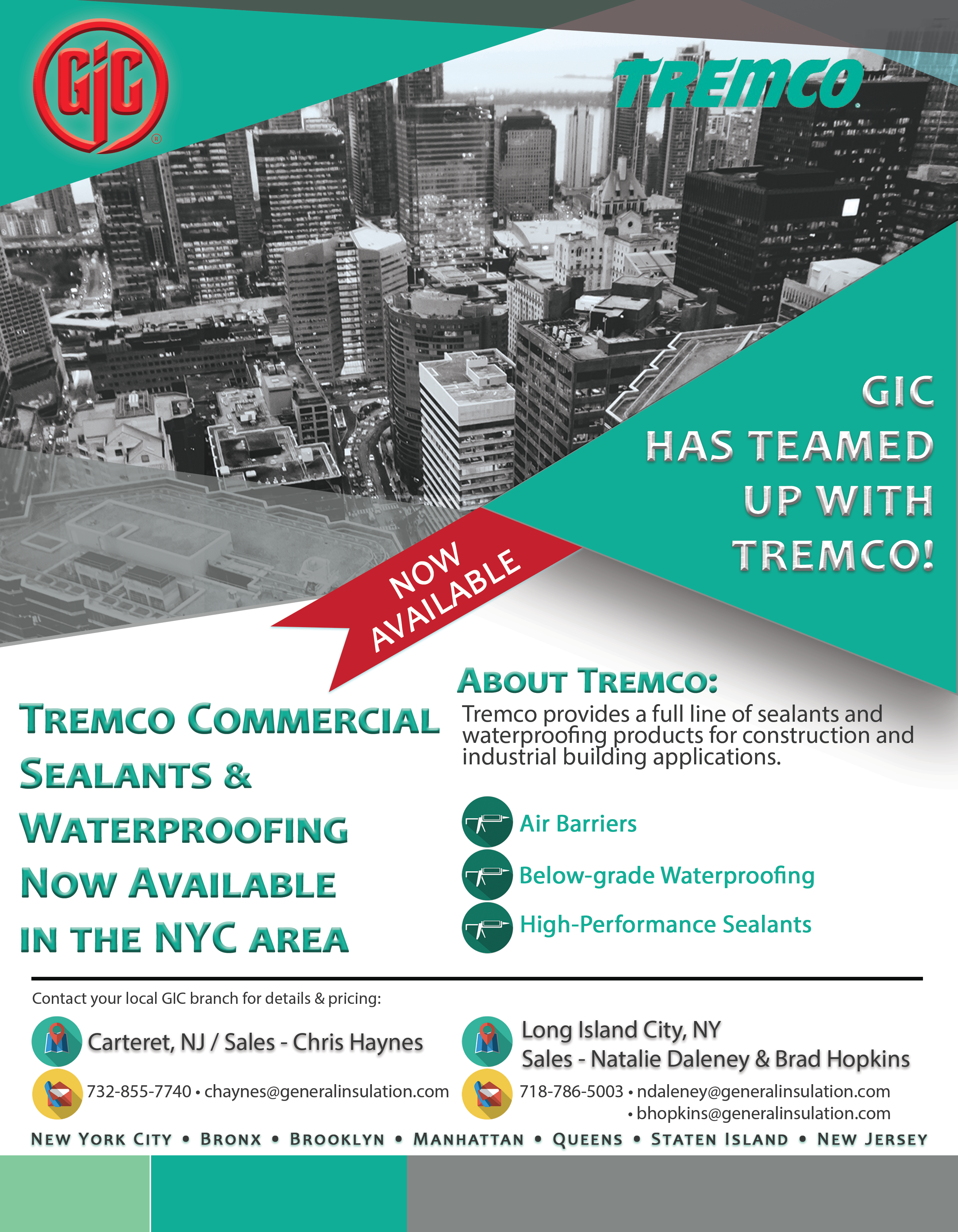 General Insulation Partners With Tremco General Insulation