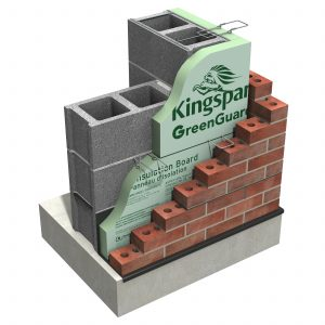 Kingspan US GreenGuard 16inch 25psi XPS Corner Build V1