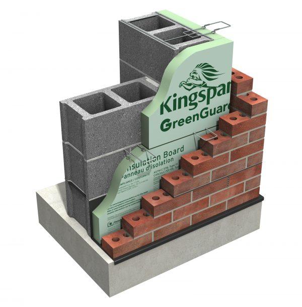 Kingspan US GreenGuard 16inch 25psi XPS Corner Build V1
