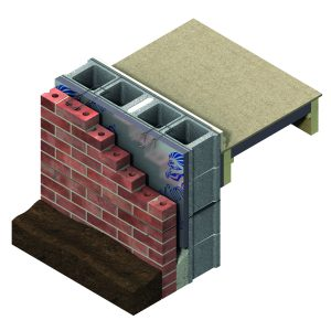 Kingspan Kooltherm Insulation Board cutaway diagram