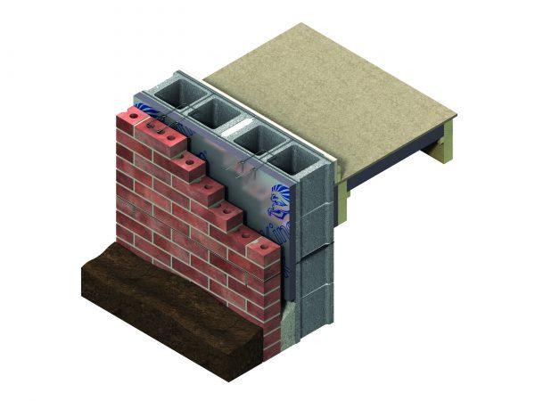 Kingspan Kooltherm Insulation Board cutaway diagram
