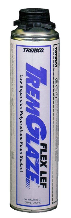 TremGlaze LEF low expansion foam spray can