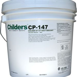 Childers CP-147 HVAC Duct Sealant bucket