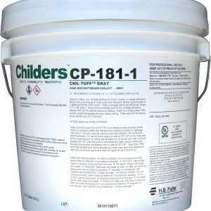 Childers CHIL-TUFF CP-181-1Fibrated HVAC Duct Sealant Mastic Commercial Construction
