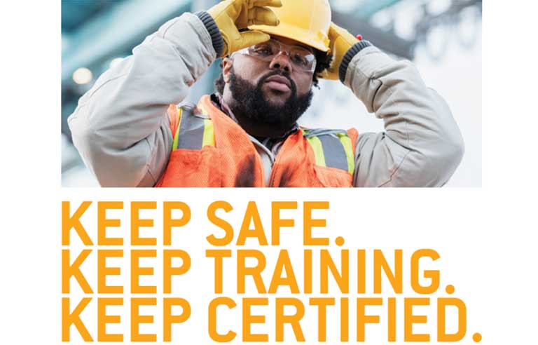 Construction keep safe by training certification