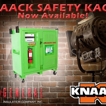 Knaack Safety Kage now available at General Insulation