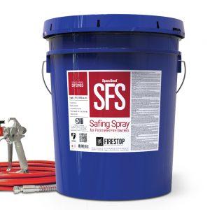 STI SpecSeal SFS Safing Spray Firestop