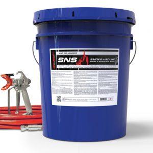 STI SpecSeal SNS Smoke 'N' Sound Acoustical Spray Firestop bucket