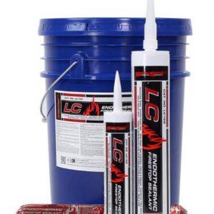 STI SpecSeal LC Endothermic Firestop Sealant bucket and cartridges