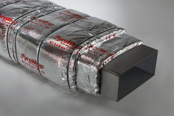 Unifrax FyreWrap Elite 1.5 Grease Duct Insulation