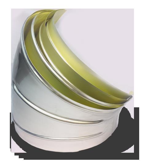 GIC Ideal Products WeatherJacs Aluminum Elbows Large Bore