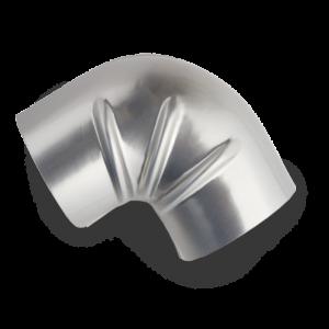 GIC Ideal Products WeatherJacs Aluminum AA Elbows Aerogel