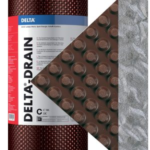 DELTA-DRAIN Drainboard Air Vapor Barrier