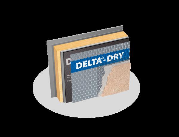 General Insulation Delta Dry Air Vapor Water Barrier Rainscreen