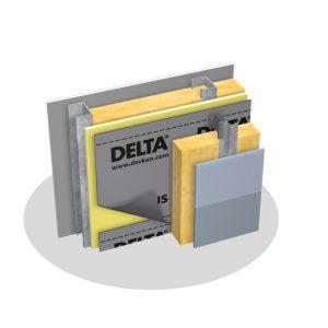 General Insulation Delta-Stratus SA Self-Adhering Air Vapor Water Barriers